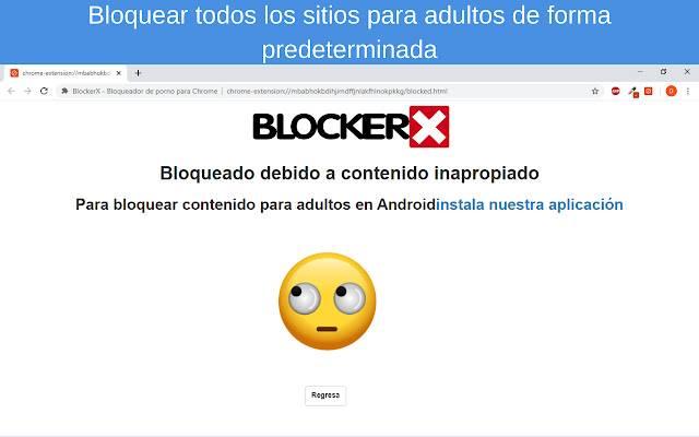 BlockerX - Bloqueador de porno
