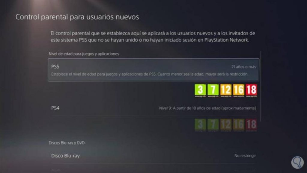 playStation 5 contenidos