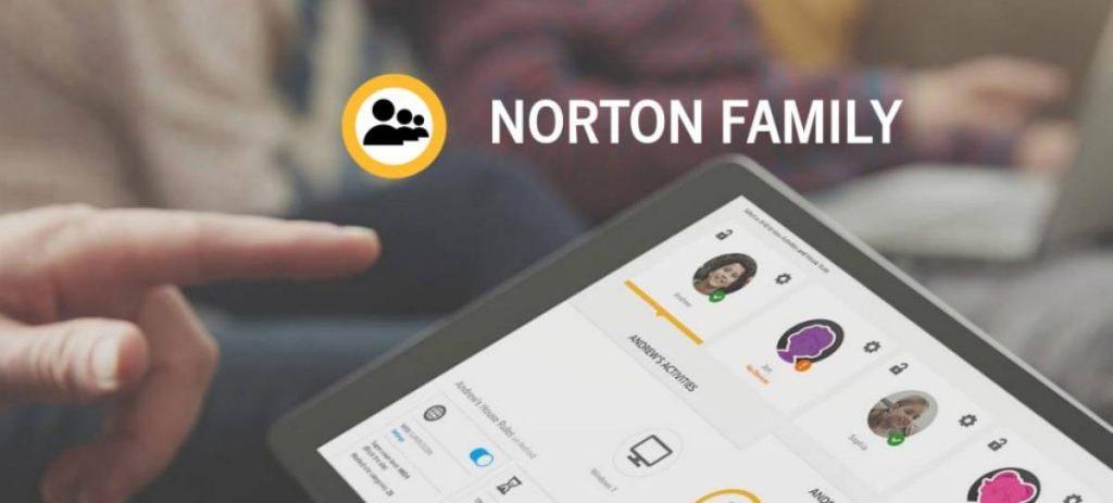 norton family dispositivos